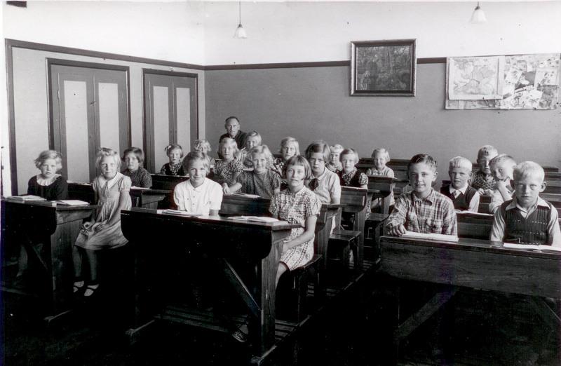 Skolefotografier fra Gassum